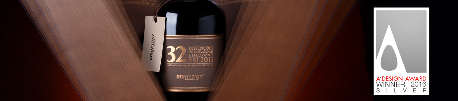 Omdesign traz 7 prémios do A' Design Award
